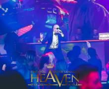 Il cantante Pitbull in discoteca Heaven di Timisoara