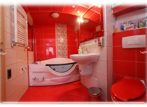 Appartamento 6 - bagna con jacuzzi, vasca idromassaggio