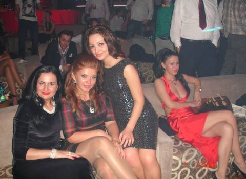 Ragazze bellissime festa Romania