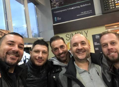 15-12-2018 Divertimento in Romania assicurato da Mario a Timisoara