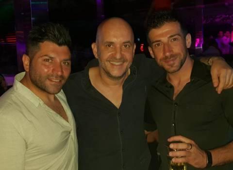 9-08-2018 Amici italiani in discoteca, foto in Romania