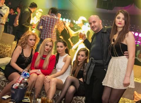 Serata divertente con belle ragazze in Romania per la festa di San Valentino 14-02-2014