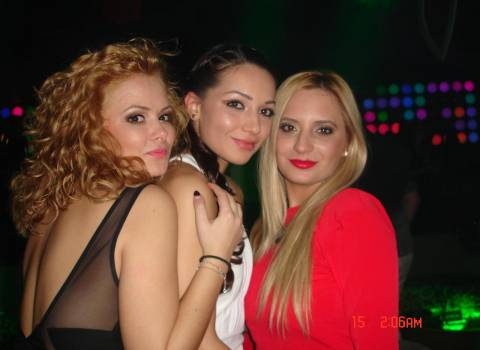 Bellissime ragazze rumene, divertimento in Romania 14-02-2014