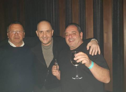 26-01-19 Tavolo in discoteca in Romania | ospiti italiani