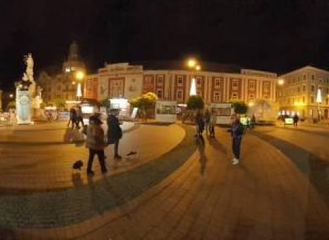 Come arrivare nella piazza della liberta a Timisoara 30-11-2019