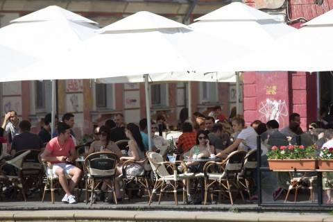 Belle donne rumene piazza 2013 Timisoara