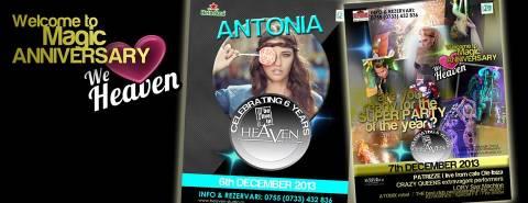 Show con Patrizze live Ibiza nella discoteca Heaven di Timisoara